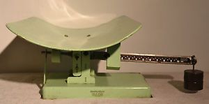 """Vintage Health O Meter """"Stork"""" Physician Baby Scale 30 Lb"""