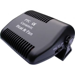 12 Volt Instant Car Fan Heater Ceramic Plugin Portable Demisting Deicing 12V V