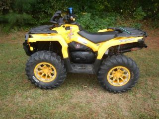 2012 Can Am Outlander 1000 XT Used ATV Quad 4 Wheeler Low Miles Exhaust