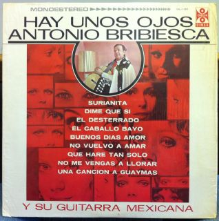 Antonio Bribiesca Hay Unos Ojos LP Mint DML 1088 Vinyl 1976 Record