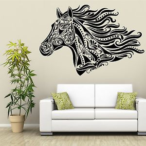Huge Horse Head Stunning Unique Wall Art Horse Box Trailer Stable Tack Room
