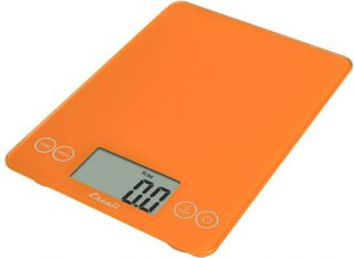 Escali Arti Glass 15lb 7kg Digital Kitchen Scale Overly Orange New Same Day SHIP