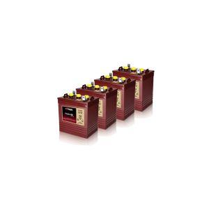 4X Trojan T105 re Renewable Energy 6V GC2 Deep Cycle Battery 225AH
