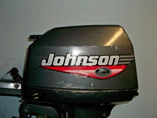 1999 Johnson 8 HP Outboard Boat Motor Engine XL Shaft Sailboat Engine 9 9 15