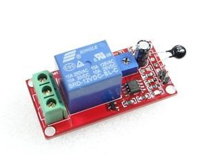 12V Thermistor Sensor Relay Module Temperature Humidity Control Switch