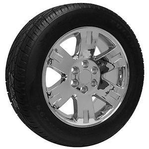 "20"" Chrome Chevy Silverado 2010 Suburban Avalanche Truck Wheels Rims and Tires"
