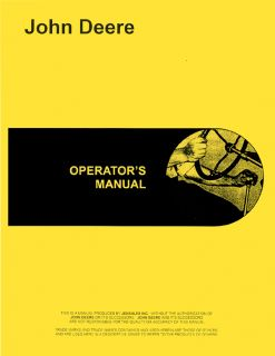 John Deere G Unstyled 0 12999 Service Operator Parts Manual