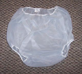 Edley Lang Adult Baby Vinyl Diaper Cover Plastic Pants XL