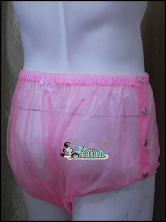 Adult Baby Plastic Pants PVC Incontinence P004 5T Size Large