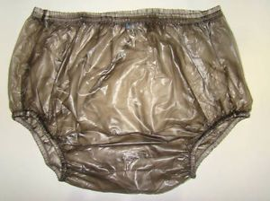 New Adult Baby Plastic Pants PVC Incontinence P005 2T