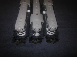 Lionel Trains 6 18872 Wabash GP 7 Lash Up 3 Triple Locomotive Engine Set