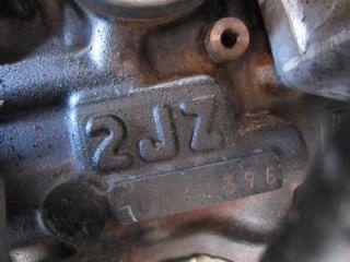 98 05 Toyota Aristo 2JZGTE Twinturbo vvti Engine Transmission 2jz IS300 Supra