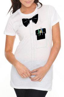 Nerd Costume Girls T Shirt