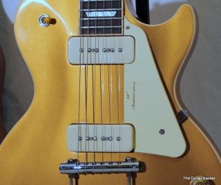 Gibson Les Paul 60th Anniversary Limited goldtop UNPLAYED Gold Top Guitar