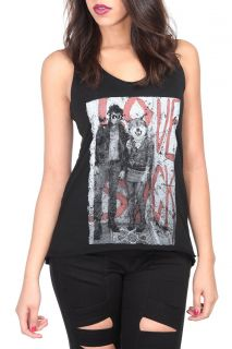 Teenage Runaway Love Suck Tank Top
