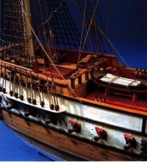 Bon Homme Richard Aeropiccola Wood SHIP Model Kit Sails