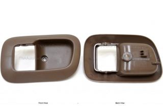 Inside Interior Door Handle Trim Casing Left Brown