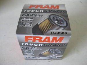 Fram Tough Guard TG3506 Oil Filter Lot 4 Four Fits PH3506