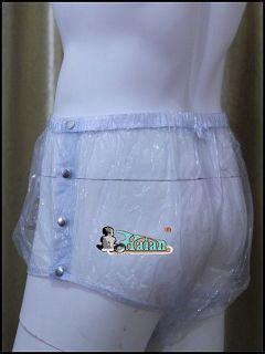 Adult Baby Plastic Pants PVC Incontinence P004 7T Size XX Large