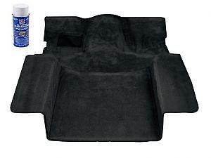 1986 1989 Suzuki Samurai Deluxe Carpet Kit Black No Roll Cage Cut Out Hard Top