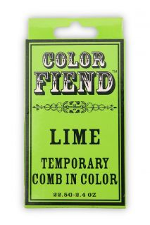 Color Fiend Lime Temporary Comb In Color