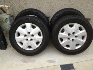"15"" Rims Tires Hubcaps 2004 Honda Accord"