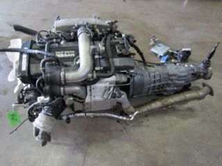 JDM Nissan Skyline RB25DET Series 1 Engine Transmission RB25 Motor r33 s14 GTS