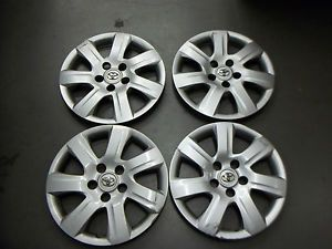 """Toyota Camry Hubcaps Wheel Covers 2010 2011 16"""" Set of 4 61155"""