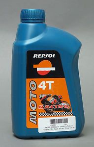 Repsol 10W40 Full Synthetic Motorcycle Engine Oil Liters