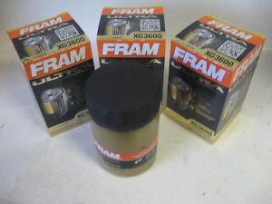 Fram XG3600 Ultra Guard Synthetic Oil Filter Lot 3 Three