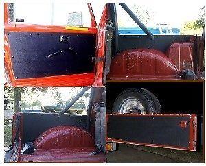 New Suzuki Samurai ABS Plastic Door Panels Tailgate Set