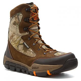 "Rocky 4776 Midweight 8"" Realtree® AP™   Men's   Brown Leather/Camo Textile"