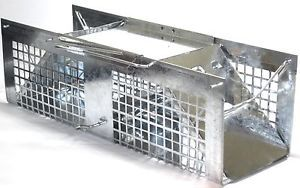 Live Pet Animal Trap Mice Voles Squirrel Rats Small Steel Cage Catch Release