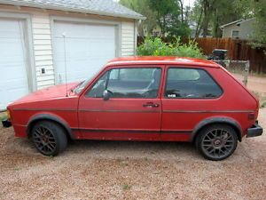 1984 Volkswagen Rabbit GTI Hatchback 2 Door Many Performance Modifications