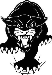 Tribal Panther Car camper Van Window Sticker Decals 4