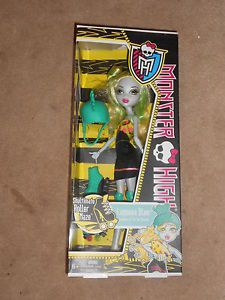 New Monster High Skultimate Roller Maze Lagoona Blue Doll