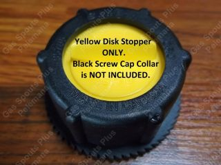 New Replacement Scepter Stopper Cap Disk JS1710 Gas Can Part Moeller Fits Spout