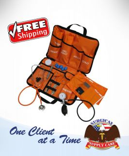 Mabis Healthcare All in One EMT Kit with Dual Head Stethoscope