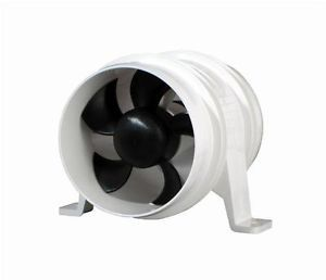 "Attwood 1747 4 4"" Turbo II in Line Blowers Boat Marine"