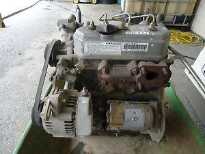 Kawasaki Mule 2510 Daihatsu Diesel Complete Engine KAF950A3 No Reserve