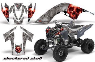 AMR Racing Graphic ATV Wrap Off Road Decal Sticker Kit Yamaha Raptor 700 CSRS