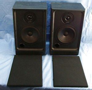 Polk Audio S4 Dynamic Balance Bookshelf Speakers Black Original Box Packaging