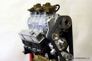 Small Block Chevy Engine 383CI Blown Pro Street Partial Assembly Built to Order