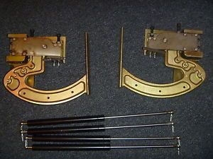 Universal Any Car Lambo Vertical Door Kit 90 Degree Gullwing Doors Open Box