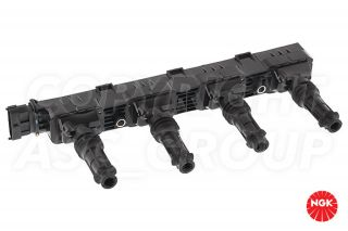 New NGK Ignition Coil Pack Vauxhall Opel Corsa 1 2 Van 2001 03