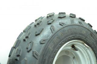 87 Suzuki Quadsport 230 Front Wheels Rims Tires ITP Radial Pro Trak 21X7R10 Lt