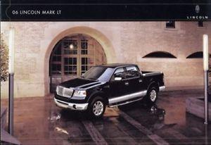 2006 Lincoln Mark Lt Luxury Sales Brochure Book