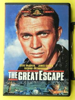 The Great Escape DVD 2009 Steve McQueen James Garner Richard Attenborough
