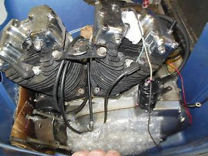 Look Harley Davidson Ironhead Sportster Parts Cases Cylinders Engine Trans Tit