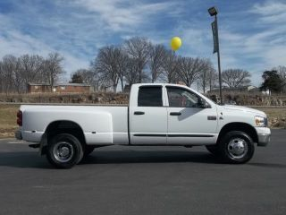 2007 Dodge RAM 3500 SLT Big Horn 4x4 DRW Dually 6 Speed Manual M T One Owner